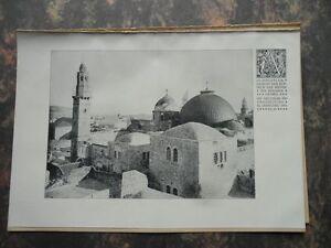 1919 Jerusalem Palästine Grabeskirche Damaskus Düsseldorf Kunstgewerbemuseum