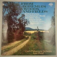 Smetana: Bohemia's Woods & Fields & Dvorak: Nature's Realm/Ancerl/Supraphon VG+