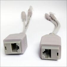 Alfa Network Power over Ethernet Passive PoE Adapter Injector + Splitter Kit