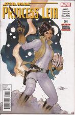 Princess Leia #1 Marvel Star Wars Han Solo Luke Skywalker Rebellion Mark Waid VF