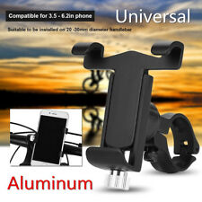 Aluminum Motorcycle Bicycle Handlebar Phone Stand Bracket Mount Holder 85X110mm