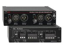 RDL RU-MLA2 Dual Mic / Line Preamplifier