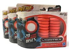 3 pack Nerf Vortex 20-Disc Refill (60 Discs total)