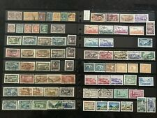 STAMPS FRANCE/ COLONY- LEBANON -1900+MINT & USED 4pages #500