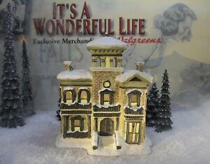 ENESCO IT'S A WONDERFUL LIFE VILLAGE-  Henry F Potter Mansion item 40037(NO BOX)