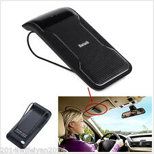 Smart Wireless Bluetooth Handsfree Speaker Car Kit Sun Visor Clip Drive Talk Mic