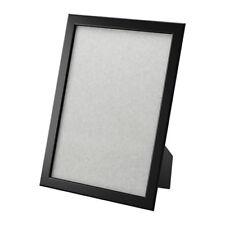 FISKBO Ikea Bilder Foto Rahmen SCHWARZ 21x30 DIN A4 Bilderrahmen Wohnen