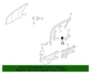 ( 1 ) GENUINE GM 20529400 Manual Door Window Crank Washer/Backing Plate