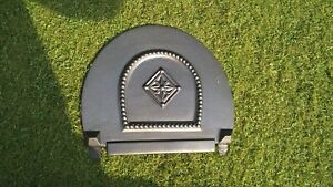 Gas Damper for  Arched Insert - Lytton - Cast Iron