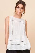 Mesop WICCA TOP White size 12 RRP $129