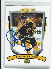 Brad Boyes Signed 2006/07 Upper Deck MVP Card #20