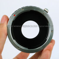 For Canon EOS EF EF-S Lens to SONY NEX E-Mount Adapter Ring Build in Aperture