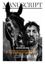 MANUSCRIPT MAGAZINE Fall 2014,Tony Ward by Paul Scala.Jolyon Mason NEW