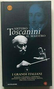 Arturo Toscanini Il maestro I grandi italiani CD da collezione Mondadori Rossini