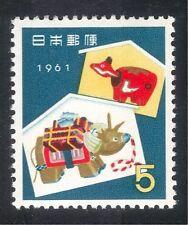 Buy japanese seasonal christmas postal stamps ebay japan 1961 yo oxnew year greetingsbeko toyscattleanimals 1v m4hsunfo