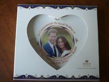 Royal Heritage H.R.H Harry and Megan Markle Wedding Commemorative Heart Shape Di