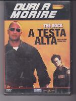 DVD DURI A MORIRE THE ROCK A TESTA ALTA,TRATTO DA  STORIA VERA,AZIONE,OTTIMO