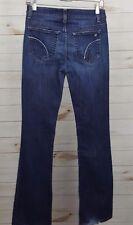 Joe's Jeans Muse Ashley Boot Cut Women's Dark Wash Blue Jeans Size 27 - 29 x 33