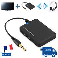 Stéréo Audio Bluetooth Transmetteur A2DP Adaptateur 3.5mm Dongle Pour TV MP3/4