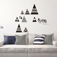 Cloud Diamond Bow Scandi Geometric Wall Decal Vinyl Nursery Sticker Room Decor