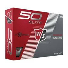 NEW Wilson Staff 50 / Fifty Elite Golf Balls - Choose Color & Quantity!