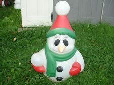 "General Foam Snowman Blow Mold Lighted 23"" blowmold #1"