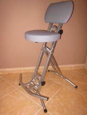 Stehhilfe Stehhocker Stehsitz Sitzhilfe Stehstütze ergonomischer Sitz 6 cmSILBER