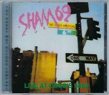 SHAM 69 - LIVE AT CBGB's - 1988 (brand new still sealed cd) - MAYO CD 519