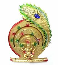 BEAUTIFUL GANPATI STATUE  FOR WALL HANGING HOLDER HOME &  OFFICE &  AS A GIFT