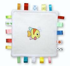 Sea Babies Taggy Blanket (choose a design)   *Personalised Free*   Holiday Gift!