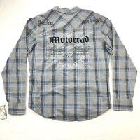NWT Fox Racing Hunter Western Pearl Snap Mens XL Long Sleeve Embroidered Shirt