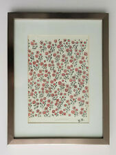 Sonia Delaunay-Silk Fabric-Compositions Planche 18-Signed-Framed