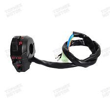 "Universal Motorcycle 7/8"" Handlebar Left Control Switch Light Horn Indicator Bar"