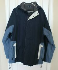 American Eagle Outfitters Womens Ski Snowboard Winter Jacket Coat Blue Sz XL