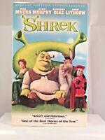 Shrek Special Edition VHS Movie - Extended Ending