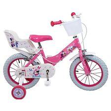 "Bike 14 "" Minnie Disney girl kid bicycle 14 inch New"