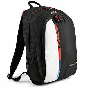 BMW Motorrad Genuine M Motorsport Backpack Rucksack Black 76629446494