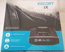 New listing Escort iX Long Range Radar Laser Detector, Black,