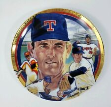 Nolan Ryan Sports Impressions Plate The Hamilton Collection #2533C 1992 (882)