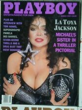 Playboy March 1989 La Toya Jackson Tom Hanks Pamela Des Barres
