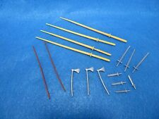 Timpo Medieval Weapons for SWOPPETTS (54MM) 18 in 5 types