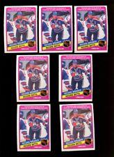 1984 O-PEE-CHEE #388 WAYNE GRETZKY HOF LOT OF 7 NMMT H136962