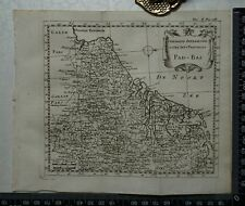 1767 – Pais-Bas / The Seventeen Provinces Holland Map by Sanson