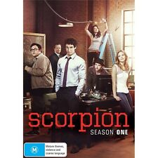 SCORPION-Season 1-Region 4-New AND Sealed-6 DVD Set-TV Series