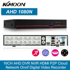 16Channel 1080P H264 AHD CCTV DVR NVR 5In1 Video Recorder Onvif P2P Network Y9S0