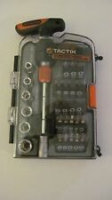 Tactix 32 pieces Mini Ratchet T-Driver Tool Set #900238QP NEW Blow Out SALE