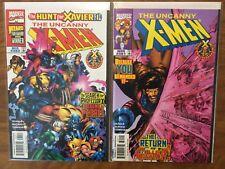 The Uncanny Xmen 360-368 Complete Wolverine Cable Adam Kubert