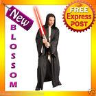 C339 Mens Star Wars Hooded Economy Sith Robe Halloween Costume