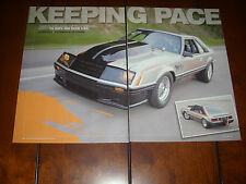 1979 FORD MUSTANG INDIANAPOLIS INDY 500 PACE CAR  - ORIGINAL 2009 ARTICLE