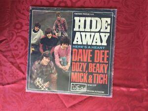 "7"" DAVE DEE DOZY BEAKY MICK & TICH * Hideaway (Star-Club Records) BEAT 1966"